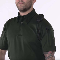 Propper F5315-72 Men's I.C.E.® Tactical Polo, Long Sleeve, Casual/Uniform, Polyester/Spandex, includes Shoulder Mic Loop