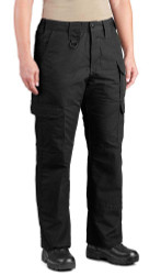Propper F529550 Women's Tactical Cargo Pants, Polyester/Cotton with Teflon Fabric Protector, Knee Pad Pocket and Ammo Pocket, Built-In D-Ring, This item comes unhemmed