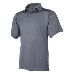 Tru-Spec 24-7 Series Men's Short Sleeve Eco Tec Tactical Polo, made using recycled water bottles, microphone/sunglasses loop, 4077