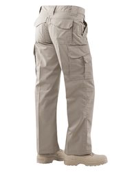 Tru-Spec 1095 24-7 SERIES® Women's Original Tactical Cargo Pants, Classic/Straight Fit, Knee Pad Pockets Ammo Pocket, Polyester/Cotton Micro Rip-Stop, Available in Black, Khaki, Coyote Brown, Olive Drab and Navy