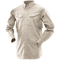 Tru-Spec TS-1104 24-7 Series® Men's Ultralight Long Sleeve Field Button-DownTactical Uniform Shirt, 2 Chest Pockets, Polyester/Cotton Blend Fabric, TS-1104