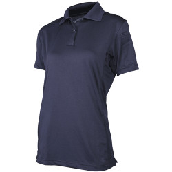 Tru-Spec 24-7 Series Women's Short Sleeve Eco Tec Tactical Polo, made using recycled water bottles, microphone/sunglasses loop, 3954