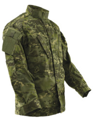 Tru-Spec 1336 Tactical Response Uniform® T.R.U.® Long Sleeve Shirt, Adjustable Cuffs, 2 Chest Pockets, Sleeve Pocket, Nylon/Cotton