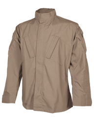 Tru-Spec TS-1286 Tactical Response Uniform® T.R.U.® Shirt,  polyester/cotton ripstop, available in Black, Navy, Olive Drab, Coyote Brown, and Khaki