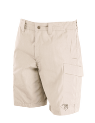 Tru-Spec 24-7 SERIES® Men's Simply Tactical Cargo Shorts, 65% Polyester and 35% Cotton Rip-Stop,  2-deep front slashed pockets with a reinforced bridge at the bottom designed to securely hold a tactical knife, 4231
