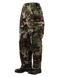 Tru-Spec 1505 BDU Men's Uniform Cargo Pants, Classic/Straight Fit, 100% Cotton, with Color Option