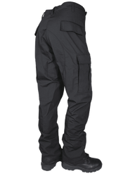 Tru-Spec TS-1827 8-Pocket BDU Tactical Pants, 65% Polyester and 35% Cotton Rip-Stop, YKK® brass zipper fly, Two adjustable side tabs with bartack reinforcements, Two rear inserted pockets with snag proof and fused pocket flaps