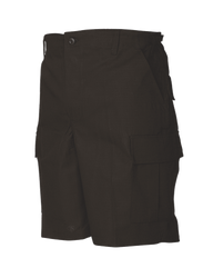 Tru-Spec BDU Tactical Shorts, 100% Cotton Rip-Stop, Easy access DropN pockets behind each cargo pocket, YKK® zipper fly, available in black, olive drab, khaki, navy and woodland, 4202