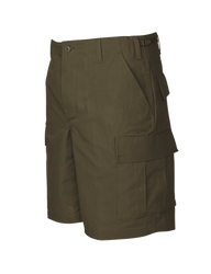 Tru-Spec TS-4202 BDU Tactical Shorts, 100% Cotton Rip-Stop, Easy access DropN pockets behind each cargo pocket, YKK® zipper fly, available in black, olive drab, khaki, navy and woodland