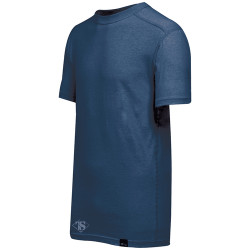 Tru-Spec TS-2761 CORDURA® Brand Baselayer Tactical Crew Neck Collar Short Sleeve Shirt, available in Black or Navy