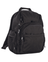 Tru-Spec Stealth Tactical Backpack, Two side zippered storage pockets with external mesh pouch, Fleece lined top zipper pouch,  available in black, coyote brown and grey, 4804
