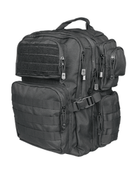 Tru-Spec Tour Of Duty Lite Tactical Backpack, 100% Polyester, Main compartment features laptop sleeve and organizer, Exterior pockets with internal ID holder and additional organizers, available in olive drab, black and coyote brown, 4801
