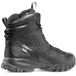 5.11 Tactical 12373 XPRT® 3.0 Waterproof 6 Inch Men's Uniform or Casual Boots with Grip on Dry & Wet Terrains, Regular or Wide Boots Width, Available in Black, Dark Earth, and Dark Coyote/Tan Brown