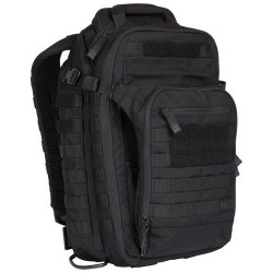 5.11 Tactical 56167 ALL HAZARDS NITRO BACKPACK 12L, Dual main compartments, Durable1050D nylon, Ideal for travel, patrol, or long range tactical use, Black