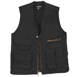 5.11 Tactical 80008 Taclite Pro Vest, Uniform or Casual, Polyester/Cotton, 2 Chest Pockets, Notepad pocket, available in Black and Khaki Brown