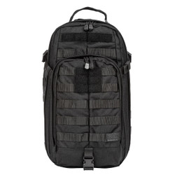 5.11 Tactical 56964 RUSH MOAB™ 10 SLING PACK 18L, Water Resistant, Sturdy, Lightweight, available in Black, Double Tap (Black/Charcoal Grey), Storm Grey, TAC OD Green, and Sandstone Brown