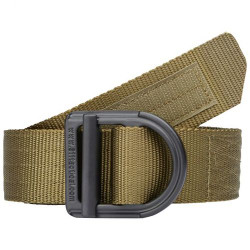 "5.11 Tactical 1.5"" Trainer Belt, available in TDU Green, Tundra, Charcoal, Sandstone, Black or Coyote 59409"