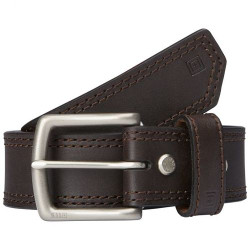 "5.11 Tactical 1.5"" Arc Leather Casual Belt, available in Black or Classic Brown 59493"