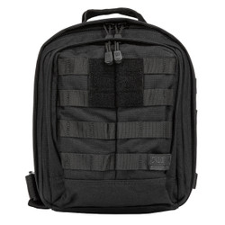 5.11 Tactical 56963 RUSH MOAB™ 6 SLING PACK 11L, Hydration pocket, Water resistant, Durable, Lightweight, available in Black, Double Tap (Black/Charcoal Grey), Storm Grey, TAC OD Green, and Sandstone Brown