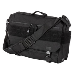 5.11 Tactical 56177 RUSH DELIVERY LIMA 12L, Water resistant, Luggage handle attachment, Padded laptop sleeve, available in Black, Double Tap (Black/Charcoal Grey), OD Trail Brown, and Sandstone Tan/Brown