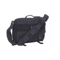 5.11 Tactical 56176 RUSH DELIVERY MIKE, Water resistant, Integrated quick-draw compartment, Luggage handle attachment, Padded laptop sleeve, available in Black, Double Tap (Black/Charcoal Grey), OD Trail Brown, and Sandstone Tan/Brown