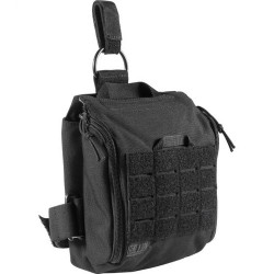 5.11 Tactical UCR THIGH RIG, 1050D Nylon fabric resists tears, breathable aerospace mesh on the back, Adjustable/removable thigh strap, 56301