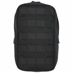 5.11 Tactical 6 X 10 VERTICAL POUCH, Molded grip pull for gloved accessibility, N500D body, YKK® zipper hardware, 58717