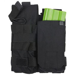 5.11 Tactical DOUBLE AR BUNGEE/COVER, N500D body/ N1050D base, Water repellent back coating, Includes both flap and bungee retention options, Weatherproofed, 56157