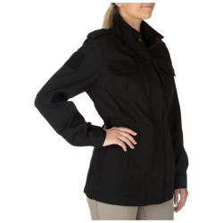 5.11 Tactical 68000 WOMEN'S TACLITE® M-65 JACKET, TDU, Polyester/Cotton, Pass through access inside front pockets for quick access to sidearm, Articulated elbows for improved fit & range of motion,