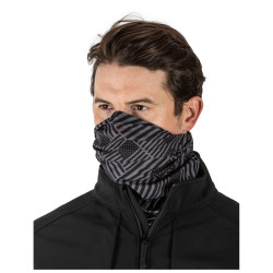 5.11 Tactical Halo Neck Gaiter, 100% Polyester, Polyester/Spandex, Uniform or Casual, Camo, Lightweight and breathable, Flint