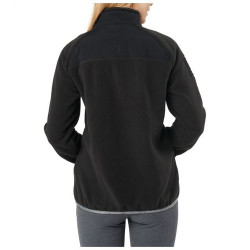 5.11 Tactical 38078 WOMEN'S APOLLO TECH FLEECE JACKET, 100% Polyester Micro Fleece Body, Elastic Binding at Top Edge of Collar, Sleeve Openings, and Bottom Hem Opening, Left and Right Chest Ready Pockets