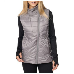 5.11 Tactical 65002 Women's PENINSULA INSULATOR PACKABLE VEST, 100% Polyester Mini Rip-Stop Body with Plain Weave Overlays, Water Resistant, Packs into removable stuff sack