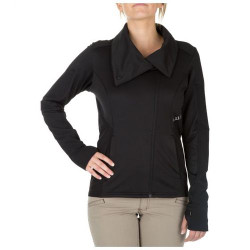 5.11 Tactical 62075 KINETIC FULL ZIP COWL NECK, Pullover, Polyester/Spandex