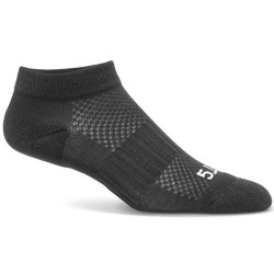 5.11 Tactical 3 Pack PT Ankle Sock, High-performance polyester, available in White, Black, and Heather Gray 10035