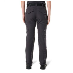 5.11 Tactical 64419 Women's Fast-Tac Tactical Cargo Pants, Classic/Straight Fit, Polyester, Ammo Pocket, Available in Black, Charcoal, Khaki, or Dark Navy