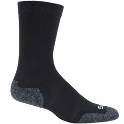 5.11 Tactical Slip Stream Crew Men's Sock, Compression arch for support, 10033