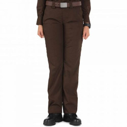 5.11 Tactical 64370 Women's TacLite PDU Class-A Uniform Pants, Classic/Straight Fit, Polyester/Cotton available in Brown, and Midnight Navy Blue