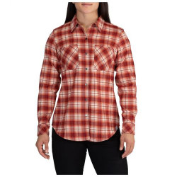 5.11 Tactical HANNA FLANNEL, Dual chest pockets with pen pocket, Branded neck tape, Scope embroidery on back, Branded snaps, 62391