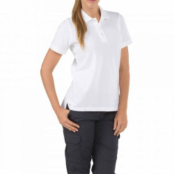 5.11 Tactical 61166 WOMEN'S PROFESSIONAL SHORT SLEEVE POLO, Cotton, Sternum Mic Loop