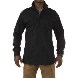 5.11 Tactical MEN'S TACLITE® M-65 JACKET, poly/cotton ripstop fabric, Slim lining for easy layering, Functional epaulettes, 78007