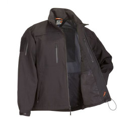 5.11 Tactical 48112 SABRE Uniform or Casual JACKET 2.0™, Adjustable Cuffs, Removable Hood