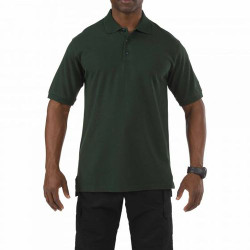 5.11 Tactical Men's Professional Polo Shirt, Pen Pocket at Left Sleeve, Embroidery Ready, available in White, Heather Grey, Black, Silver Tan, Range Red, Academy Blue, Dark Navy, or LE Green 41060