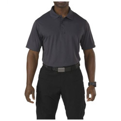 5.11 Tactical Men's Corporate Pinnacle Short Sleeve Polo Shirt, available in Charcoal, Black, Range Red, or Dark Navy 71057