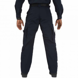 5.11 Tactical 74363 Taclite® EMS Men's Uniform Cargo Pants, Classic/Straight Fit, Polyester/Cotton, Knee Pad Pocket, Available in Black and Dark Navy