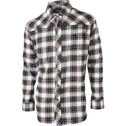 BLACKHAWK CS06 VERITY, Long Sleeve Button-down Casual Shirt, 1 Chest Pocket, Polyester/Cotton, available in Black Plaid or Harbor Plaid