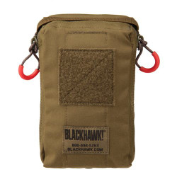 BLACKHAWK 37CL124 COMPACT MEDICAL POUCH, available in Black and Coyote Tan