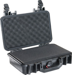 Pelican 1170 Small Protector Case, Watertight, Crushproof, and Dustproof, with Foam Insert, Available in Black, Silver, Orange, Yellow, OD Green, or Desert Tan, 18x13x13, 16 lbs
