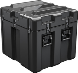 Pelican AL2624-1805 Single Lid Case, With Optional Foam Insert or Wheels, Available in Black and OD Green, 30x28x27, 67 lbs (w-out foam 42 lbs)