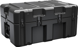 Pelican AL3018-0905 Single Lid Case, With Optional Foam Insert, No Wheels, Available in Black or Green, 34x22x17, 37 lbs (w-out foam 28 lbs)