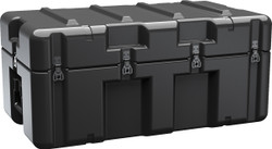 Pelican AL3418-1005 Single Lid Case, With Optional Foam Insert, No Wheels, Available in Black or OD Green, 38x22x18, 43 lbs (w-out foam 33 lbs)